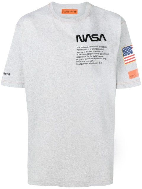 e628e6c0616154 Shop Heron Preston Heron Preston x Nasa T-shirt | Fashion in 2019 ...