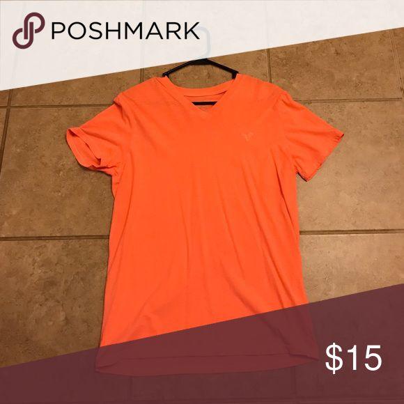 American Eagle Orange T-Shirt American Eagle Orange T-shirt American Eagle Outfitters Shirts Tees - Short Sleeve
