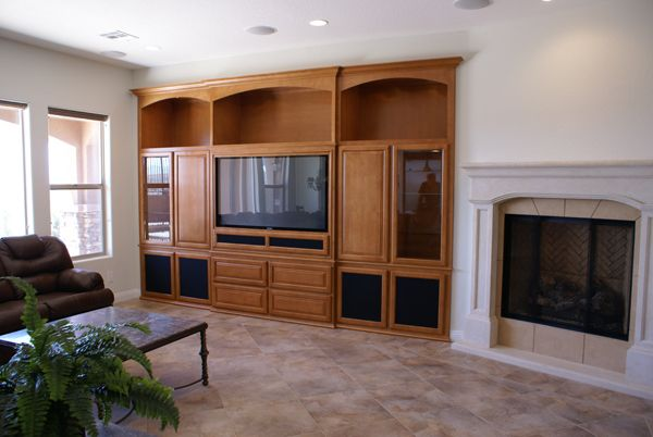 Built In Entertainment Centers Custom Wall Unit Cabinets In Las Vegas Custom Wall Unit Built In Entertainment Center Wall Unit
