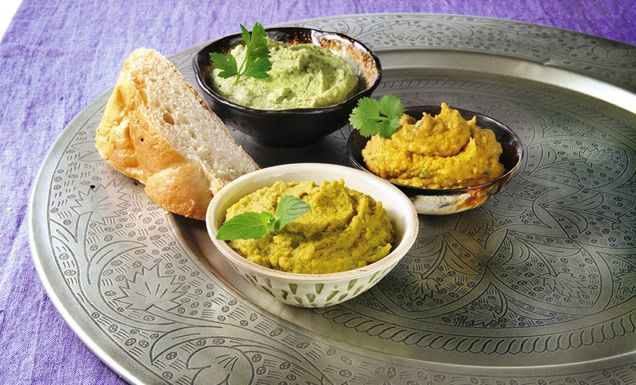 Curry-Hummus
