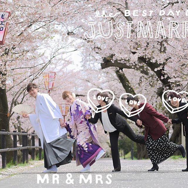 【miiina_629】さんのInstagramをピンしています。 《#weddingtbt ➳♡ ・ ・ みんなと手を繋いで片足上げshot😂💓💓 ・ 片足上げ…(笑) ほかに何か言い方あるかな?🤔💭💭 ぴょんぴょんshotとか?🐰 ☝︎センスなさすぎやな(笑) ・ 自分で言っちゃあれだけど、 やっぱり桜shotは最高〜😭🌸💕✨💫 カメラマンさん、いい写真を撮っていただき ありがとうございます😭🙏🏻✨ ・ ・ あっ!さっきお風呂に入りながらふと 思ったんですが🛁💭💓 皆さんお風呂は一緒に入る派ですか? 1人で入る派ですか? ☝︎決して変態ではございません😂笑 私は1人で入りたいのに旦那が押しかけて きて困ってますww ・ ・…