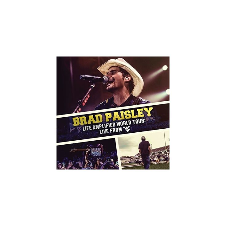 Brad Paisley - Life Amplified World Tour: Live from Wvu (CD)