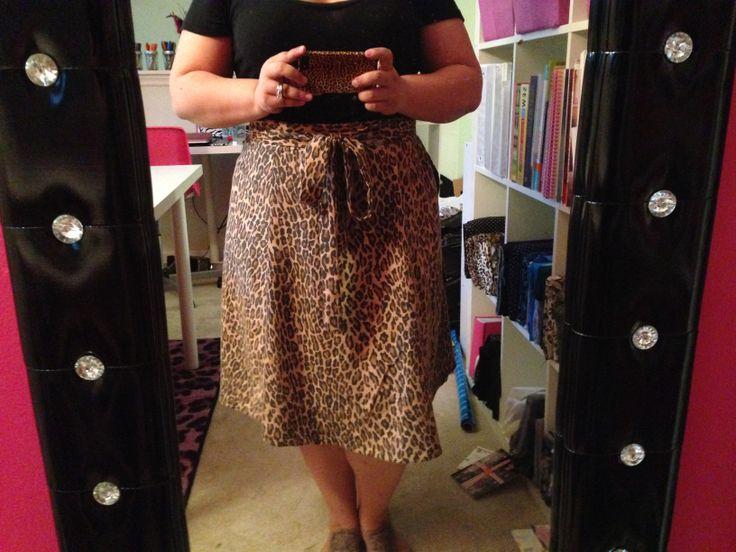 Miette Skirt in Lovely Leopard