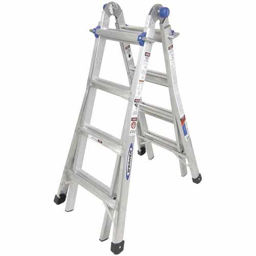 Werner 4.6m Multi-fold Ladder