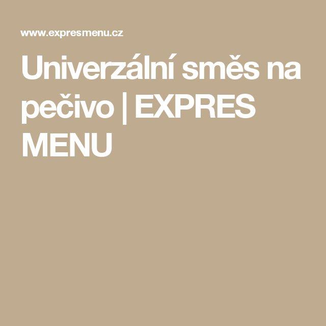 Univerzální směs na pečivo | EXPRES MENU