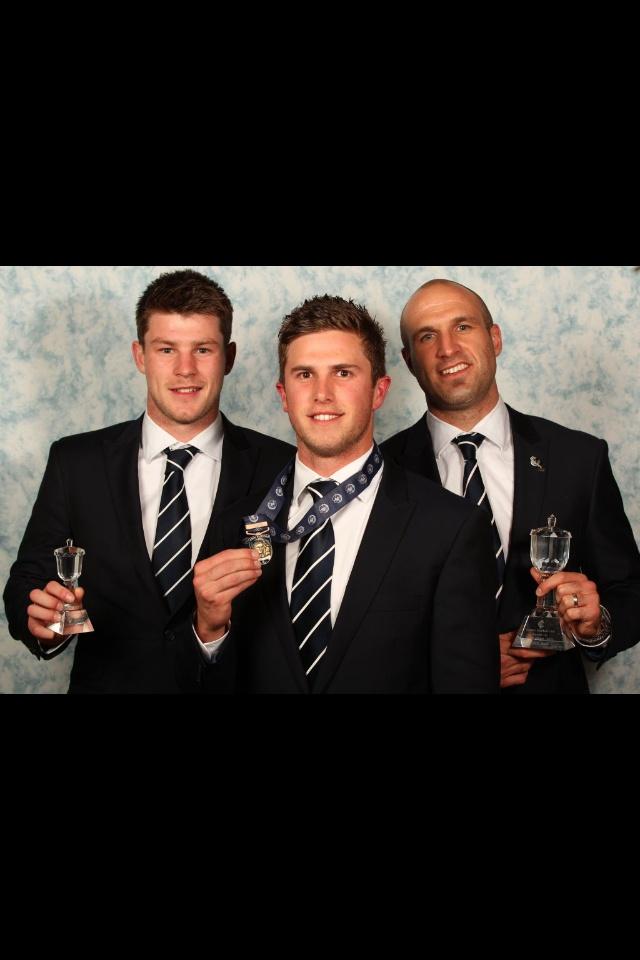 John Nicholls Medal 2011 - 1st Marc Murphy 2nd Chris Judd 3rd Bryce Gibbs