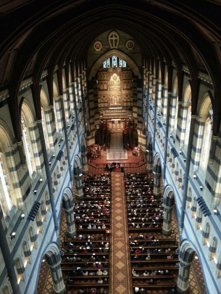 St Pauls Cathedral, Melbourne.  Visited this place many times and it always has a calming affect on me.