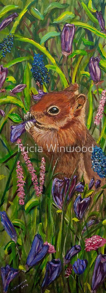 Remodernism - Red Squirrel by Tricia Winwood
