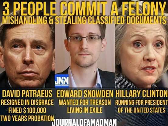 Hillary Clinton above the law, thanks to the worst ...