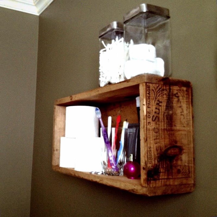 Crate Shelves Bathroom 28 Images Crate Shelves For Bathroom The Diy Adventures Over The