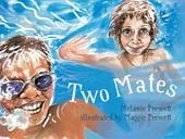 Australia - Two mates Two Mates is the true story of the special mateship between two young boys who have grown up together in the coastal town of Broome in Australia's north-west. Jack is Indigenous and Raf is a non-Indigenous boy who has spina bifida. Jack and Raf take the reader on a journey of their daily life growing up in Broome. Together they search for hermit crabs, go hunting for barni, fish for salmon, explore the markets, eat satays and dress up as superheros.