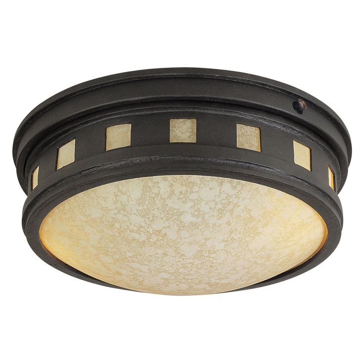 Designers Fountain Outdoor ES2375-AM-ORB Sedona-ES Flush Mount Lantern - ES2375-AM-ORB