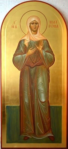 St Matrona the Blind of Moscow / Image result for Orthodox Icons -