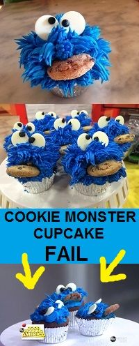 The official GMA Cookie Monster Cupcake FAIL! Here's how you can NAIL IT: abcn.ws/17HeTzk