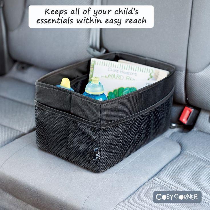 Οργανωτής αυτοκινήτου που κρατά τροφές και παιχνίδια οργανωμένα αλλά και σε εύκολη πρόσβαση για τα παιδιά. http://goo.gl/zSpOK0