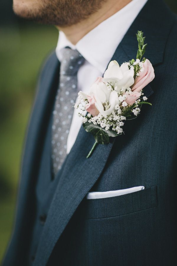 Wedding Rose Buttonhole http://www.helenlisk.blogspot.co.uk/