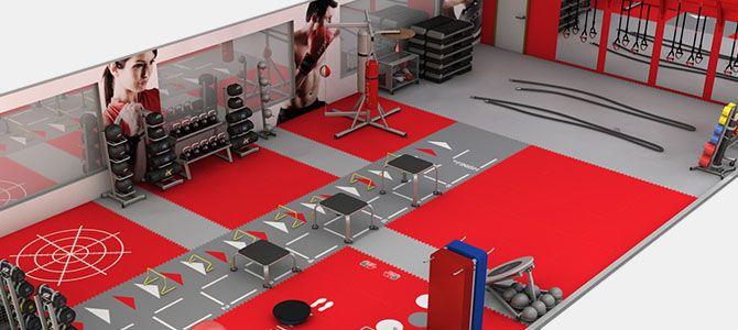 Boxing gym interior design pesquisa do google