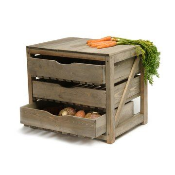 Cool veggie storage (for my future root cellar maybe?)