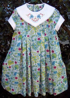 Susan Stewart Designs - heirloom sewing Newest pattern, Lily.