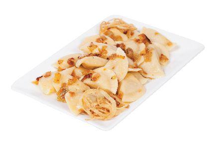 Potato-Onion Perogies from #YummyMarket