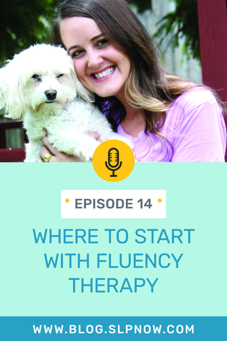 014 Where to Start with Fluency Therapy Therapy