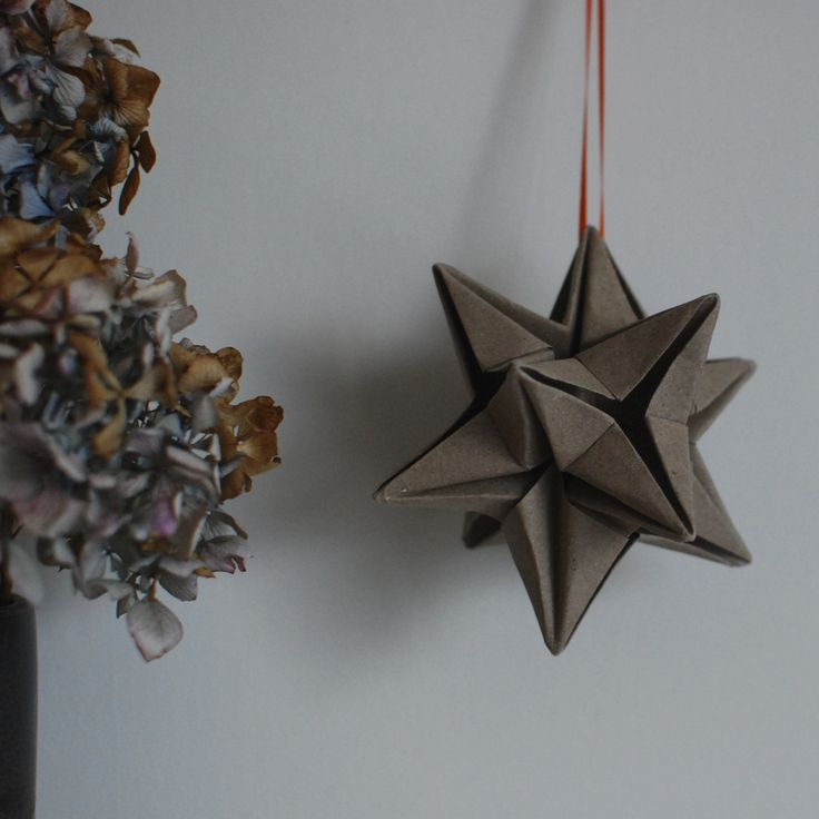 Origami star (instructions from the Paper Home by Esther Thorpe @origami_est)