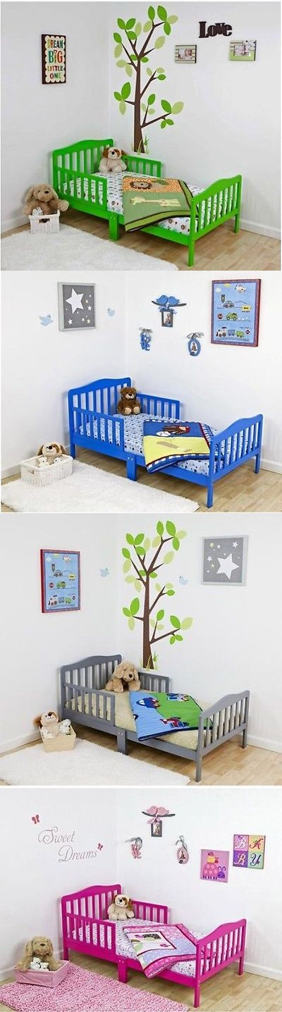 Kids Furniture: Kids Classic Bed Dream On Me Design Toddler, (Your Choice In Color) Furniture BUY IT NOW ONLY: $82.99