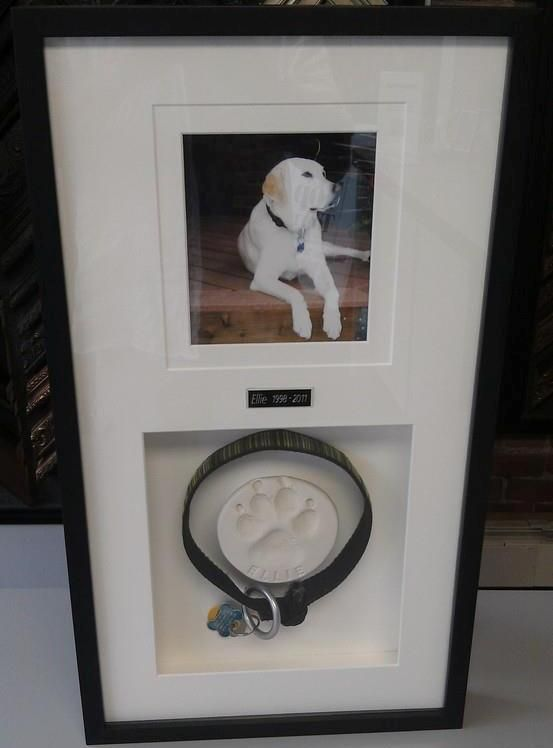Custom framing is a fantastic way to honor your lost loved ones. Custom framed by FastFrame of LoDo.