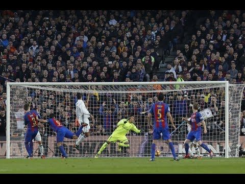 Barcelona vs Real Madrid HD Highlights Gameplay 2017