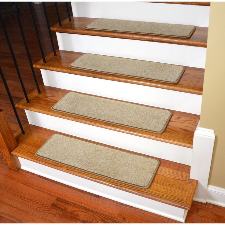 Amazing Dean Non Slip Tape Free Pet Friendly Stair Gripper Natural Fiber Sisal  Carpet Stair Treads   Island Sand/Black   Dean Stair Treads