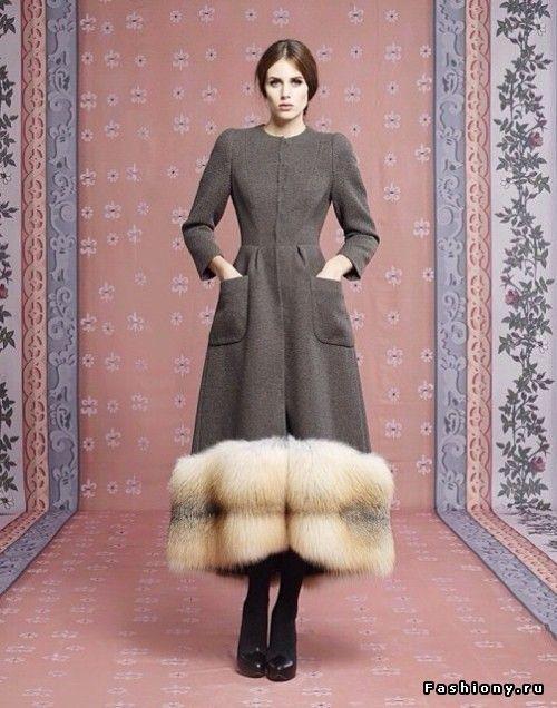 Ulyana Sergeenko Осень-Зима 2013-2014 (Капсульная коллекция)