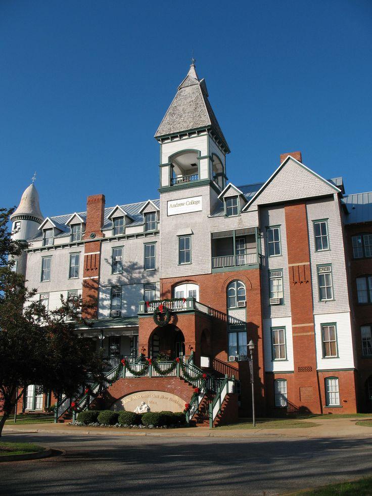Andrew College in Cuthbert, GA. (1854)