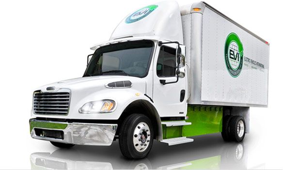 Electric truck from EVI (Electric Vehicles International)