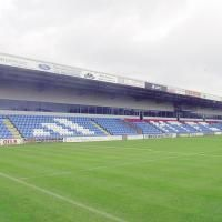 """The """"Moss Rose"""" Ground in Macclesfield, England."""