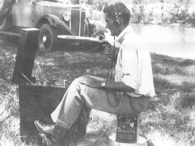 The Pedal Radio, 1937