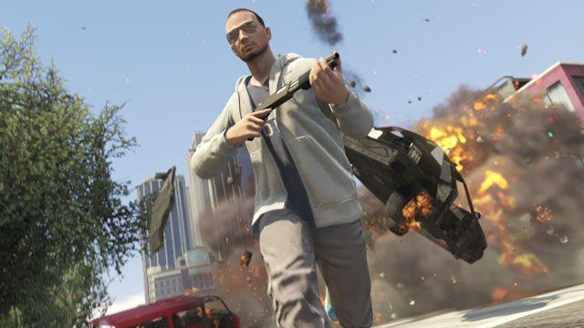 GTA Online (screenshot) http://news.softpedia.com/news/Rockstar-Explains-GTA-Online-Game-Day-Access-Character-Creation-System-More-387397.shtml
