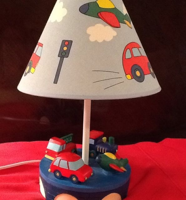 Children's Lamp, Car, Truck, FireTruck, Train....missed out on auction on ebay for this one.  I soooo wanted this!  The search continues!  ;)