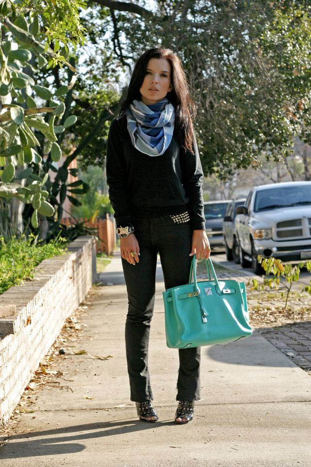 Cant express how much I want this Hermes Birkin Lagoon bag ...