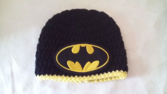 Check out this item in my Etsy shop https://www.etsy.com/uk/listing/287731679/crochet-batman-hat-baby-batman-hat