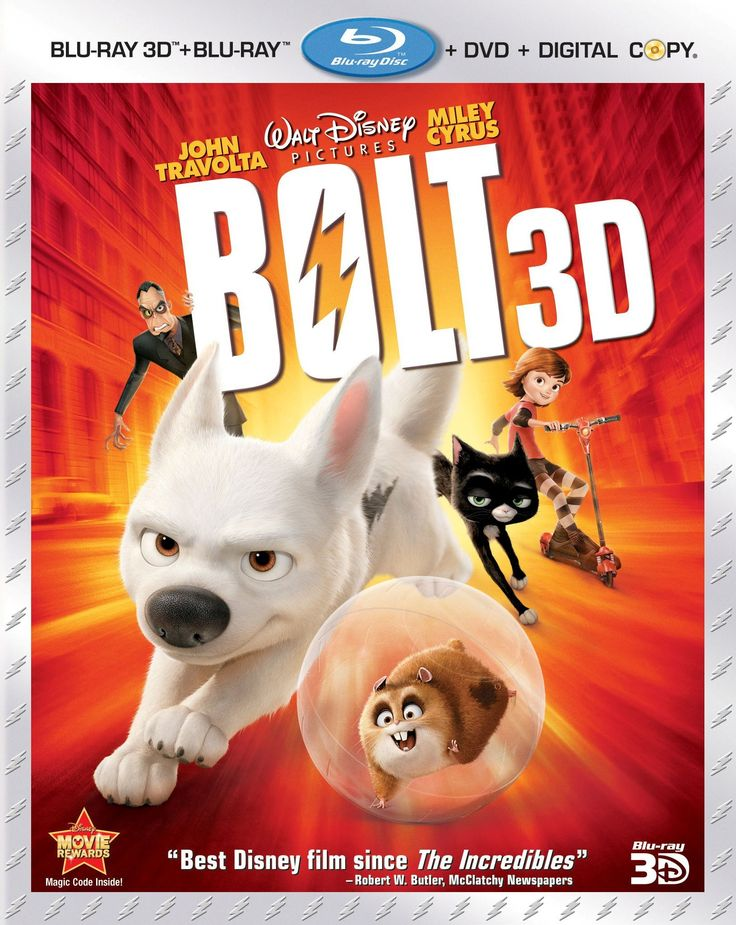 Bolt 3D (Blu-ray)