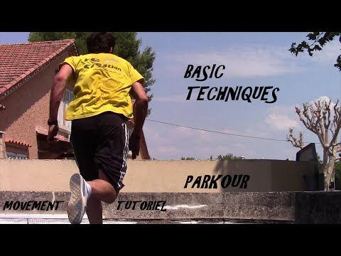 Fundamental parkour moves