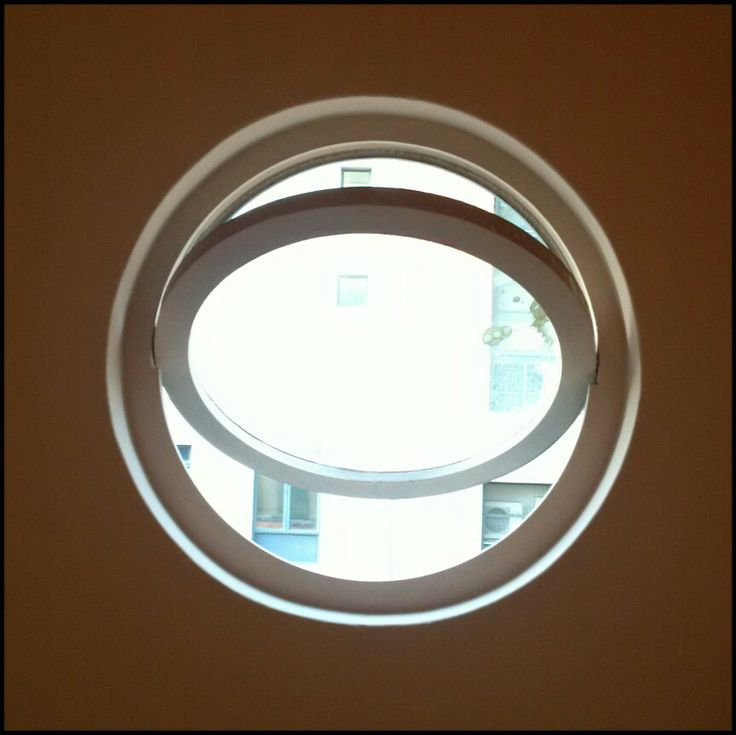 round window, view from new KLuK CGDT Cape Town store