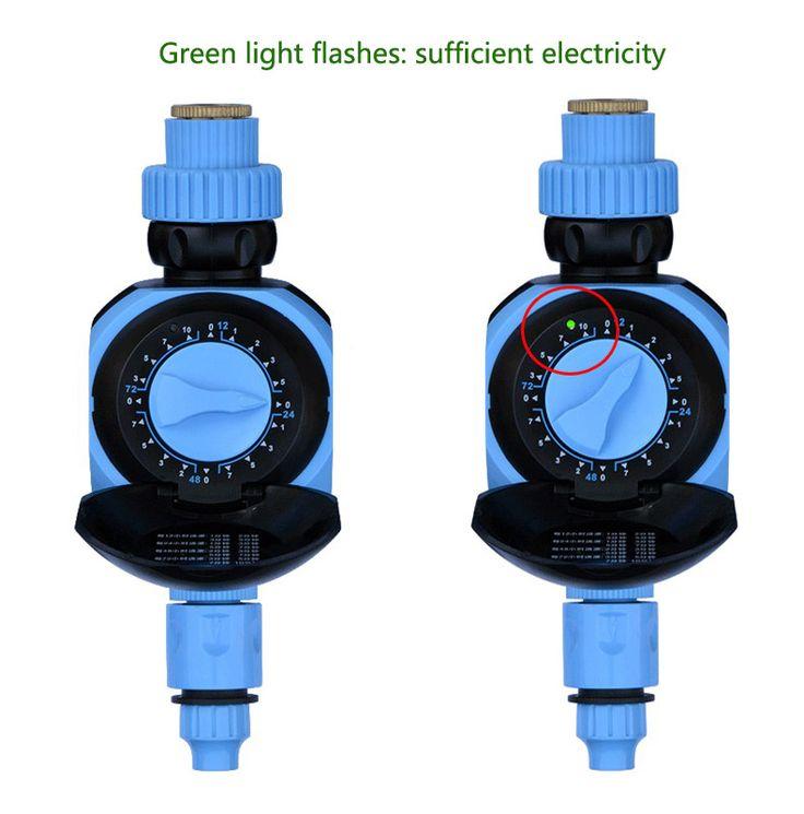 botão rotativo solenóide automática controlador temporizador válvula água jardim da estufa de irrigação sincronismo