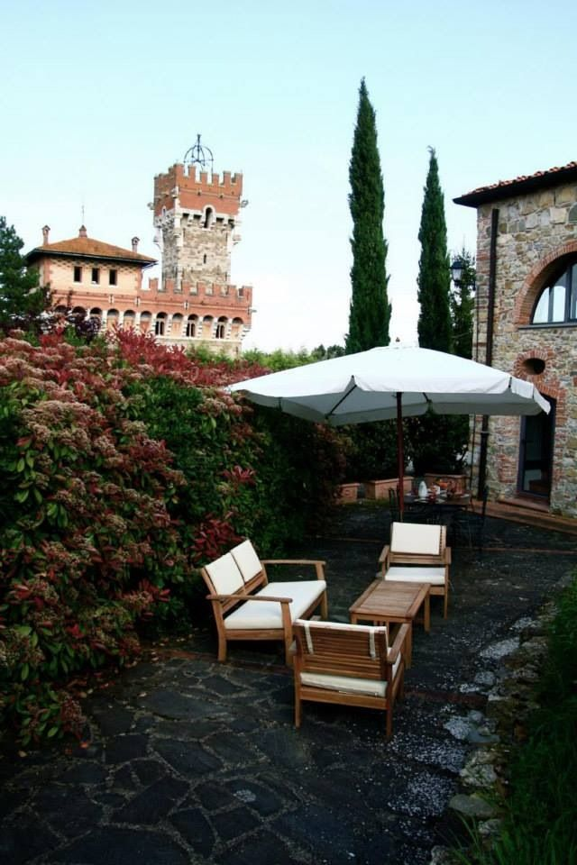 Limonaia apartment terrace at tenuta Lupinari #tuscany just relax here