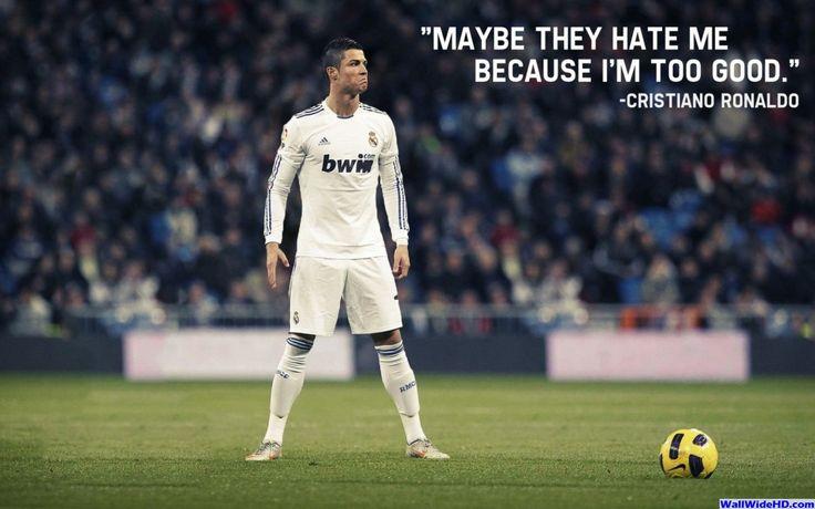 Cristiano Ronaldo 2014 Quote Wallpaper Wide or HD | Male