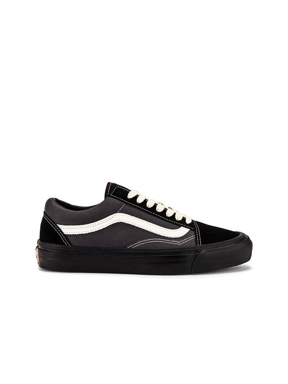 Vans Vault OG Old Skool LX in Black & Forged Iron
