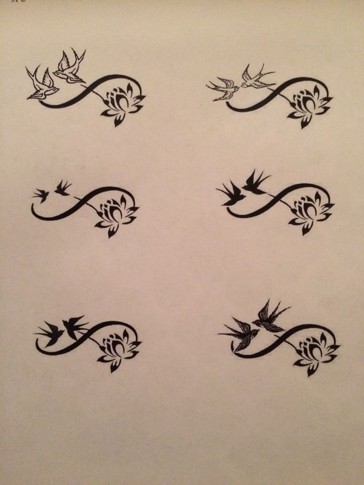 Image result for unique infinity tattoos | Tattoos with meaning ...