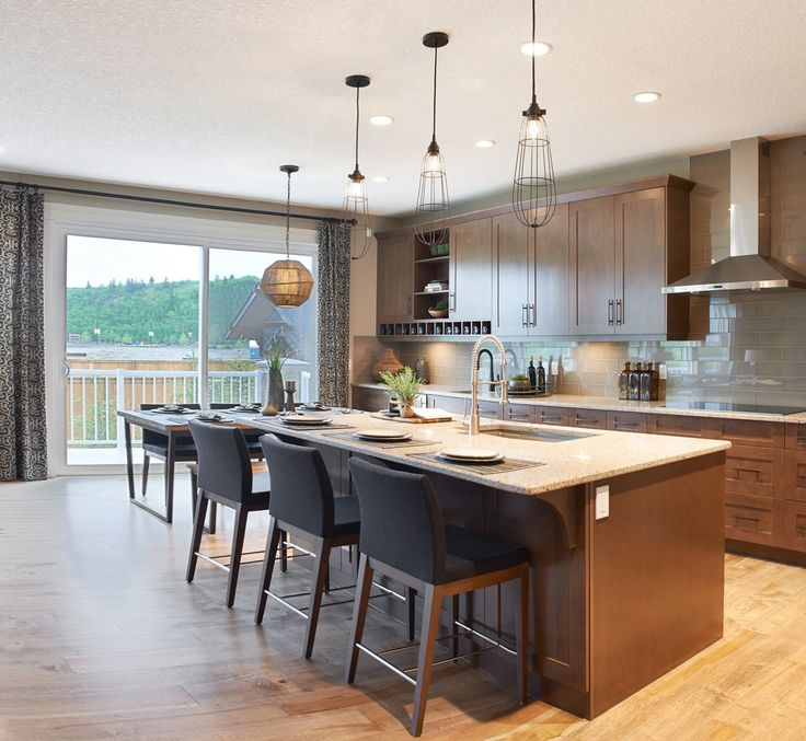 The stanton in riviera trico homes check out the new for Ak kitchen cabinets calgary