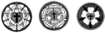 "The same Lutheran newspaper carries on its masthead (pg. 1) of every edition Luther's seal, of Rosicrucian design. In fact, Luther was a Rosicrucian. Masonic signs and grips closely parallel those of Rosicrucians (Christian News, February 18, 2003, p. 1). In an article on the internet entitled ""Calvinism,"" John Paul Jones quoted Masonic scholar Manly P. Hall, 33o, as affirming that Protestant reformer Martin Luther was a Rosicrucian initiate. In the article, Luther's official seal, middle…"