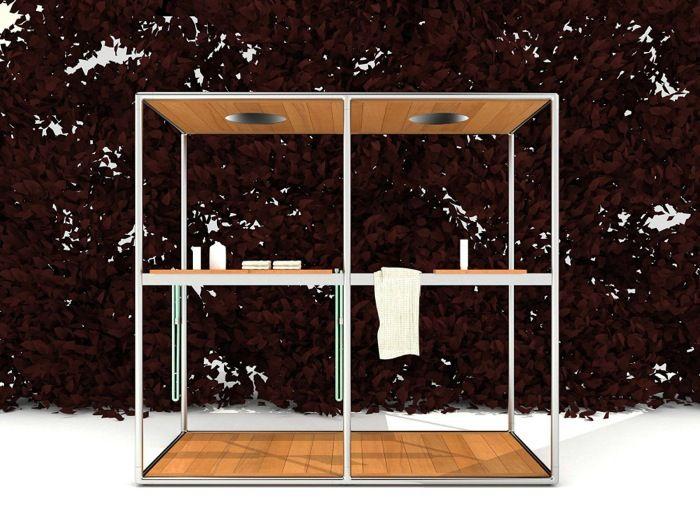 Cabinas De Ducha Kos:: doble cabina de ducha, de Kos Cabina de ducha con capacidad para